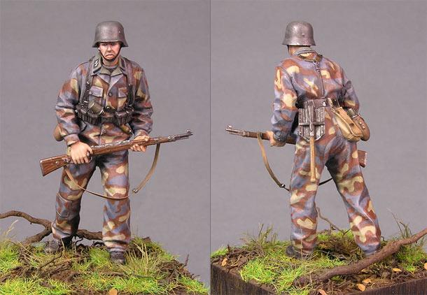 Figures: SS grenadier