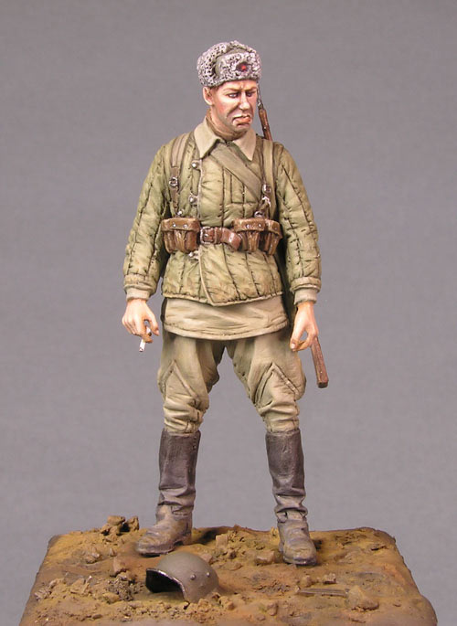 Figures: Soviet soldier, photo #1
