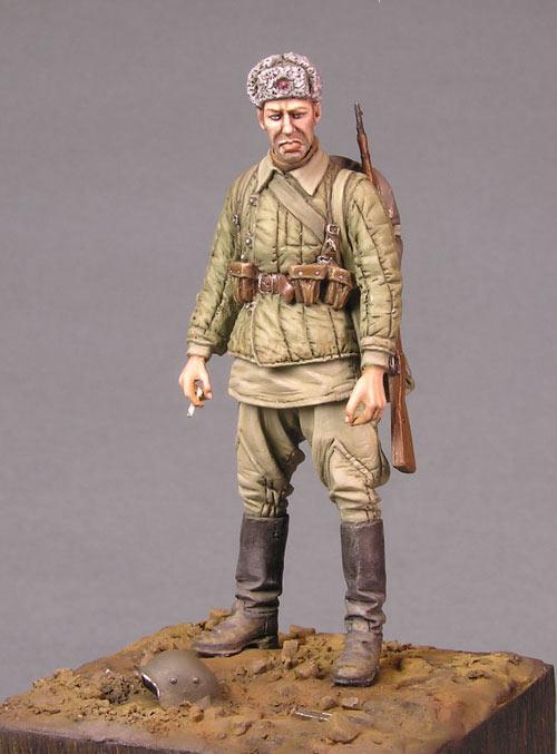 Figures: Soviet soldier, photo #2