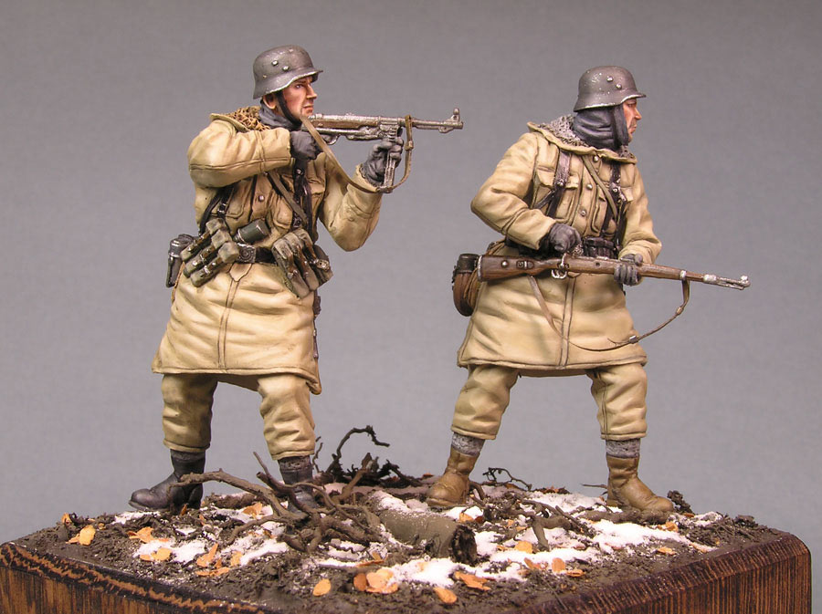 Dioramas and Vignettes: SS grenadiers, Kharkov, 1943, photo #4