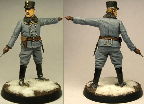 Figures: Austrian officer, WWI