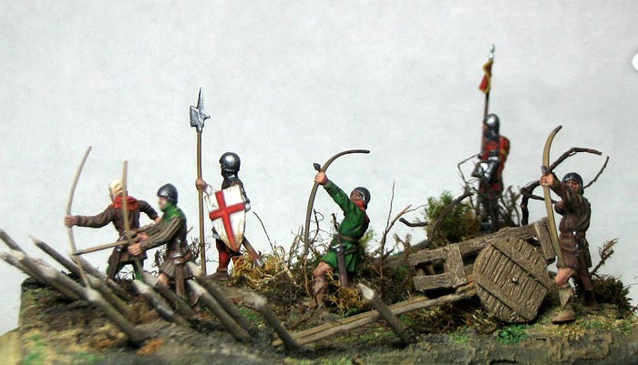 Dioramas and Vignettes: English archers in action, photo #2