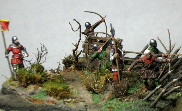 Dioramas and Vignettes: English archers in action, photo #4