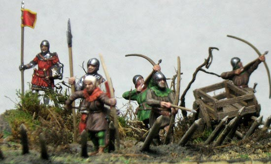 Dioramas and Vignettes: English archers in action, photo #5