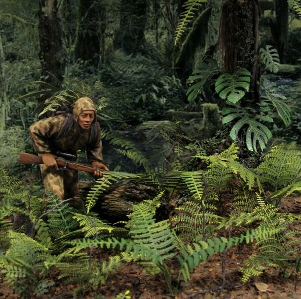 Dioramas and Vignettes: Vietcong sniper
