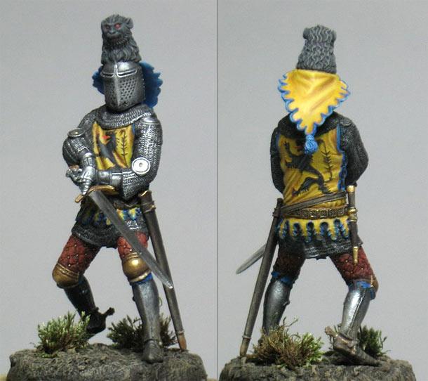 Figures: Sir Louis De Nevers, Count of Flanders