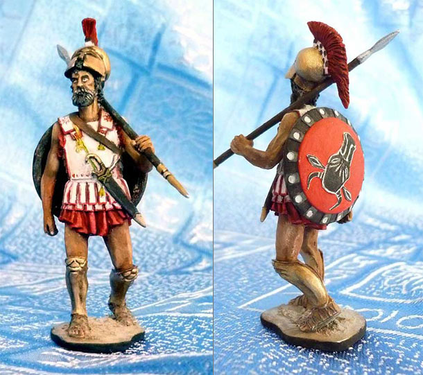 Training Grounds: Greek hoplite, V century A.D.