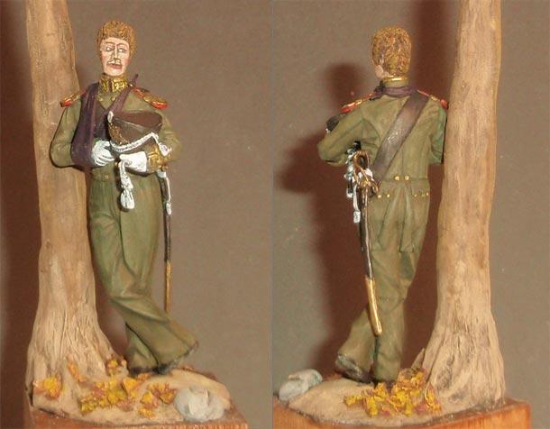 Sculpture: Ober-Officer, Guard Navy Crew, 1813