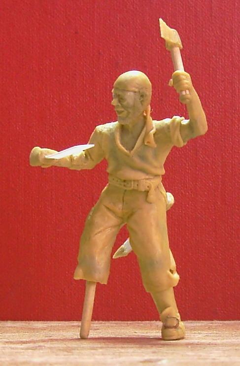 Sculpture: Pirate, photo #9
