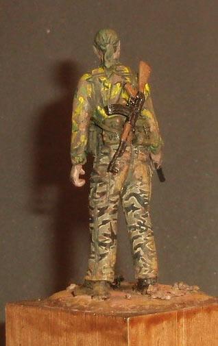 Sculpture: U.S. Navy SEAL, Vietnam, 1968, photo #6