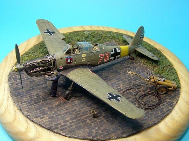 Dioramas and Vignettes: Arado Ar-96B