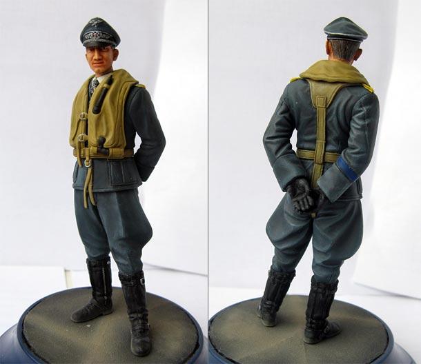 Figures: Luftwaffe ace