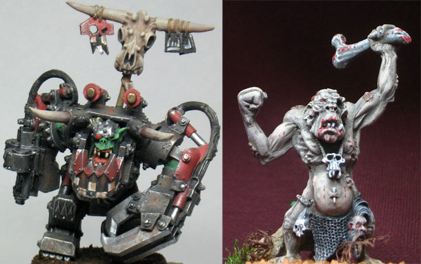 Miscellaneous: Warhammer figures