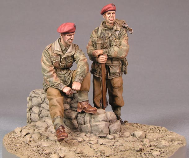 Dioramas and Vignettes: Red Devils