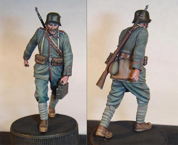 Figures: German infantryman, WWI
