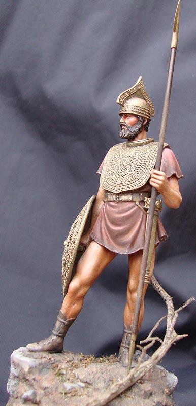 Figures: Italic warrior, photo #3