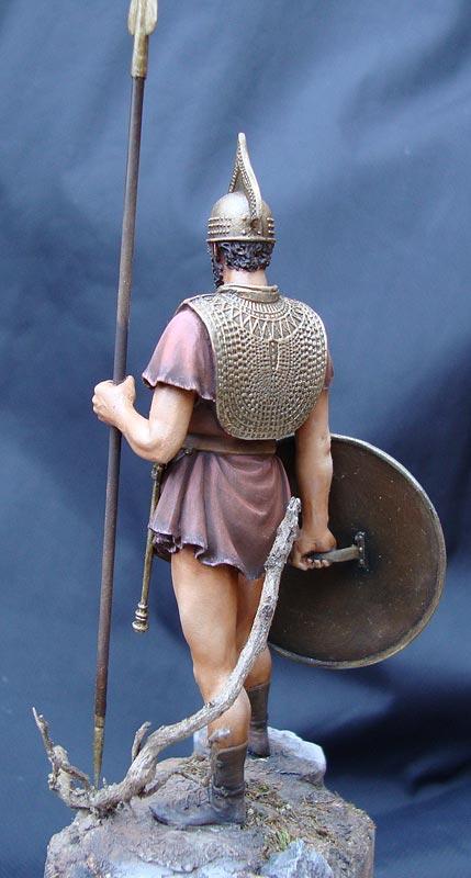 Figures: Italic warrior, photo #4