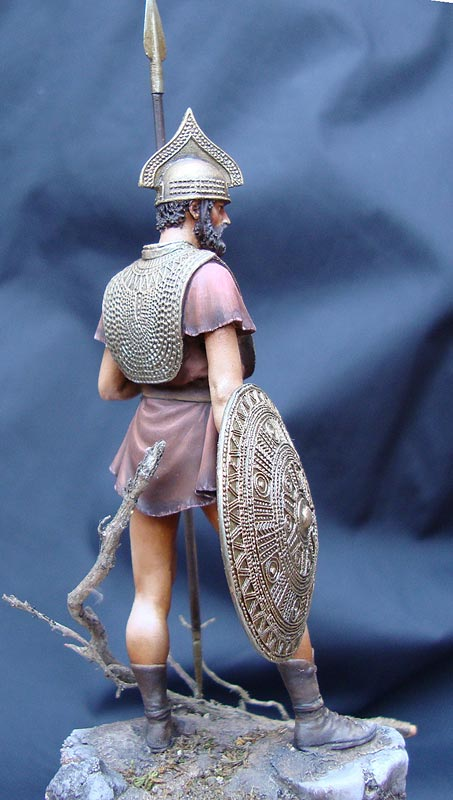 Figures: Italic warrior, photo #5