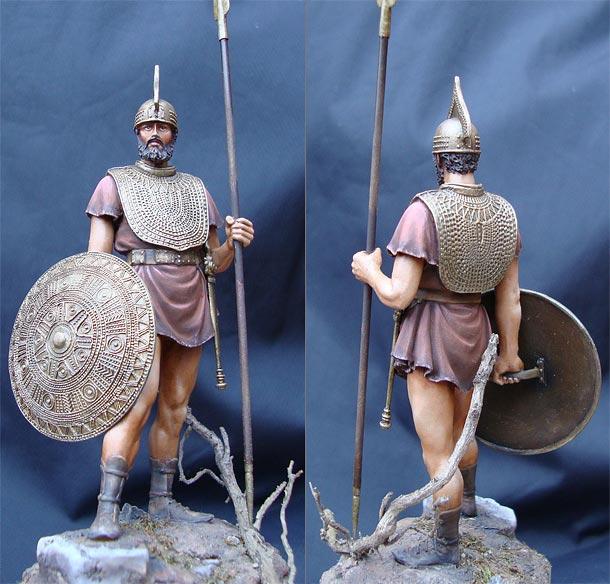 Figures: Italic warrior