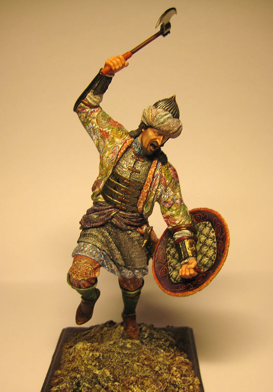 Figures: Turkish warrior, photo #1