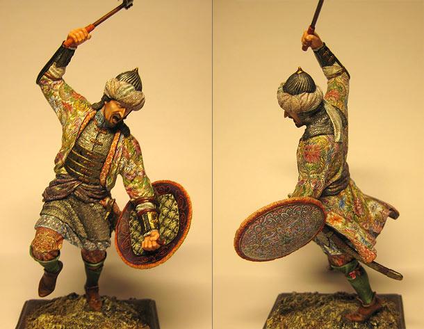 Figures: Turkish warrior