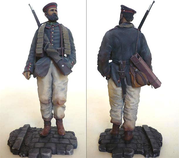 Figures: Infantryman, 4th Bavarian regt., 1915