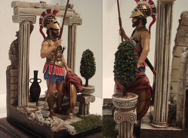 Dioramas and Vignettes: Defender of Athens