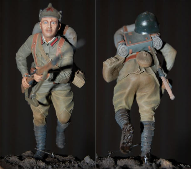Figures: Red Army soldier