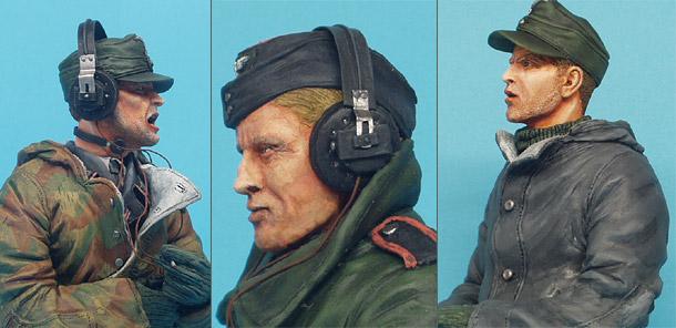 Figures: German Panzer Crew