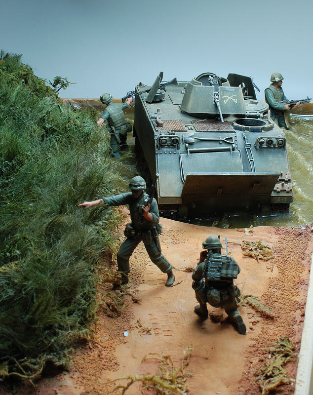 Dioramas and Vignettes: Drop zone under attack!.., photo #11