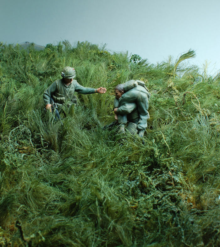 Dioramas and Vignettes: Drop zone under attack!.., photo #13