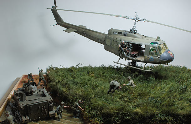 Dioramas and Vignettes: Drop zone under attack!..