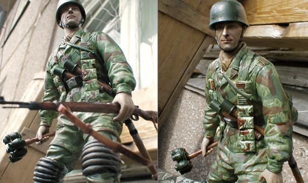 Figures: German Fallschirmjaeger
