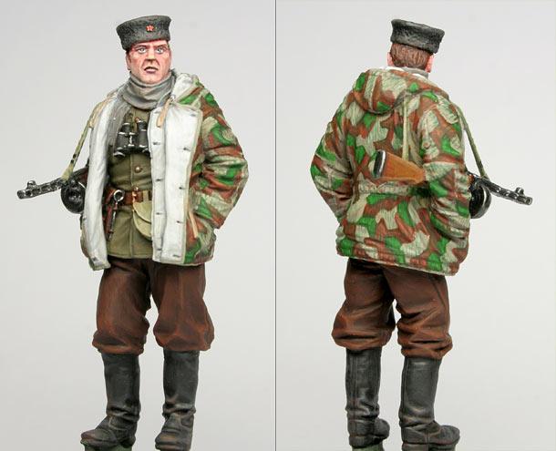 Figures: Soviet partisans commander