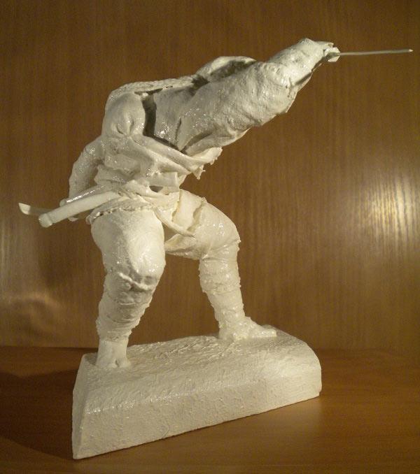 Sculpture: Ninja. Shadow of the Night, photo #3