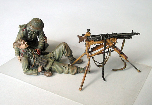 Figures: RLA Machine Gunners