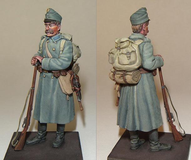 Figures: Austrian-Hungarian infantryman, WWI