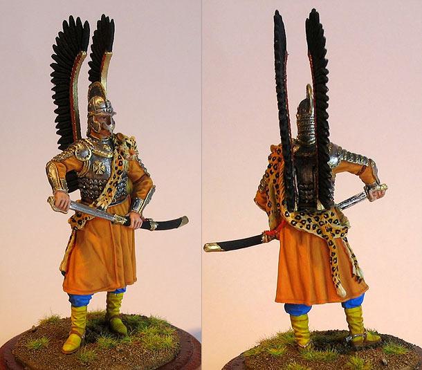 Figures: Polish winged hussar