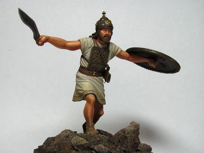 Figures: Italic warrior, VI-V centuries B.C., photo #2