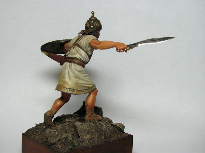 Figures: Italic warrior, VI-V centuries B.C., photo #4