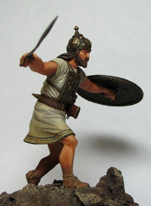 Figures: Italic warrior, VI-V centuries B.C., photo #5