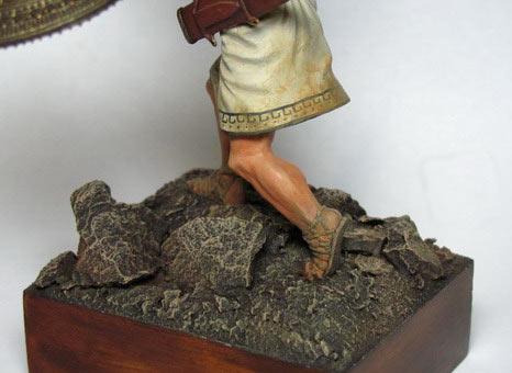 Figures: Italic warrior, VI-V centuries B.C., photo #6