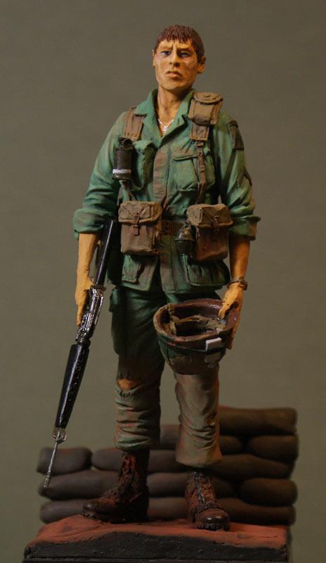 Figures: Paratrooper, 101st. airborne, Vietnam'69, photo #1