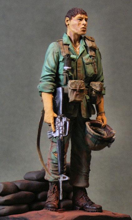 Figures: Paratrooper, 101st. airborne, Vietnam'69, photo #4