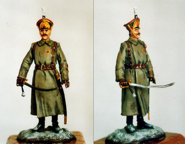 Figures: Russian artilleryman, 1918