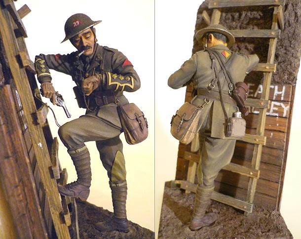 Figures: British officer, 1916