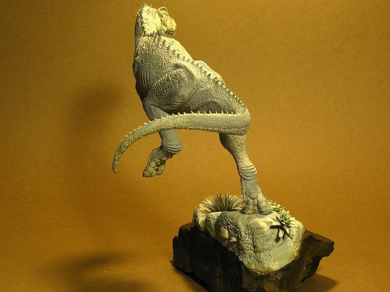Sculpture: Rugops, photo #3
