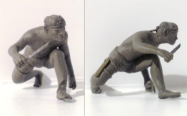 Sculpture: Dac Cong trooper