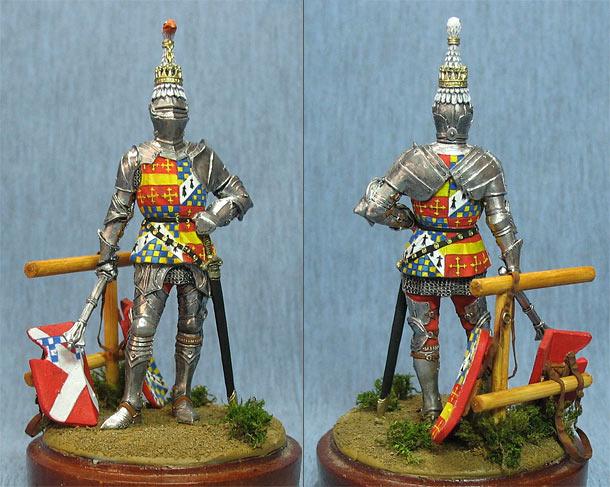 Figures: Richard Neville, 16th Earl of Warwick