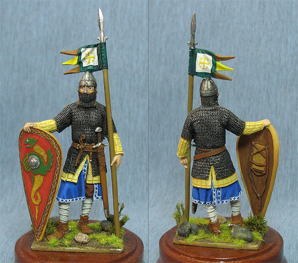 Figures: Norman knight